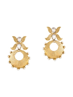 Gold Tone Earrings - 15612409 - Standard Image - 1