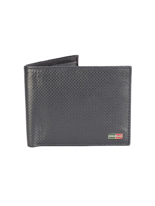 grey leather wallet - 15612915 - Standard Image - 1