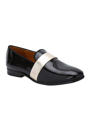 black Patent Leather slip ons - 15613206 - Standard Image - 1