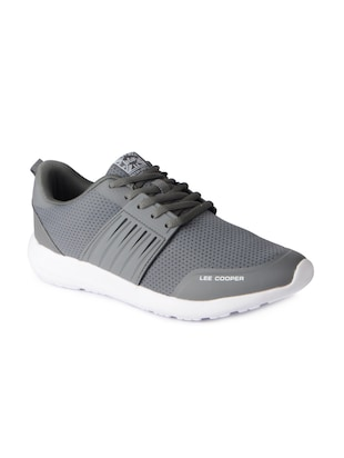 grey Mesh sport shoes - 15615748 - Standard Image - 1