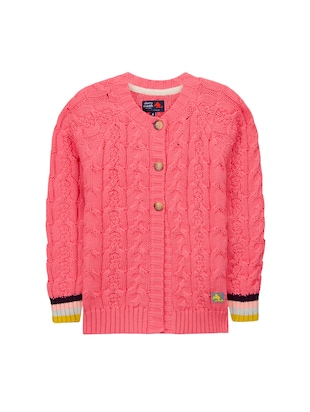 red cotton cardigan - 15620466 - Standard Image - 1