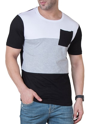 multi colored cotton cut & sew t-shirt - 15621104 - Standard Image - 1