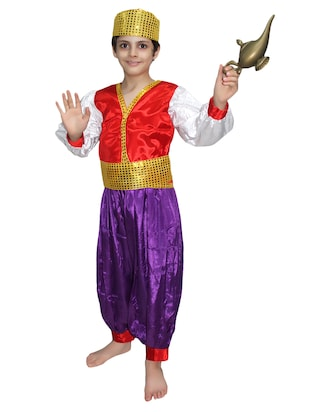multi colored  polyester costume - 15625630 - Standard Image - 1