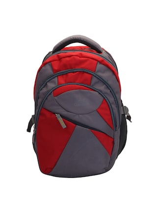 red cotton polyester blend regular backpack - 15625773 - Standard Image - 1