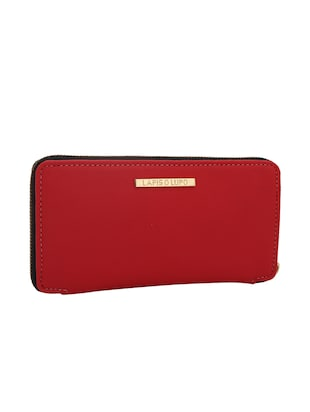 red leatherette (pu wallet - 15625775 - Standard Image - 1