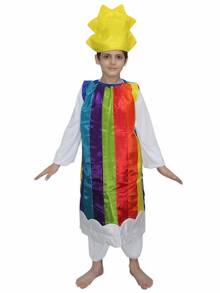 multi polyester costume - 15626164 - Standard Image - 1