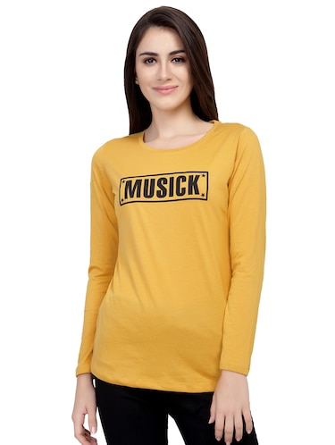 Graphic Print Long Sleeved Tee - 15726919 - Standard Image - 1