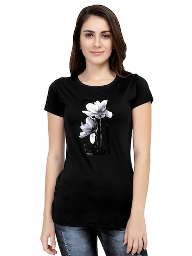 Graphic Print Short Sleeved Tee - 15726938 - Standard Image - 1