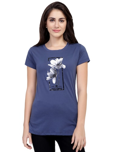 Graphic Print Short Sleeved Tee - 15726940 - Standard Image - 1
