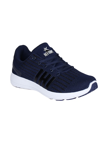 navy Fabric sport shoes - 15729385 - Standard Image - 1