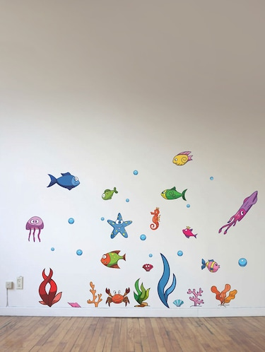 Wall Decals ' Underwater '  Wall stickers (PVC Vinyl) Multicolour - 15730181 - Standard Image - 1