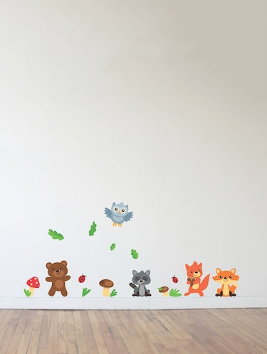 Wall Decals ' Baby Animals ' Wall stickers (PVC Vinyl) - 15730196 - Standard Image - 1