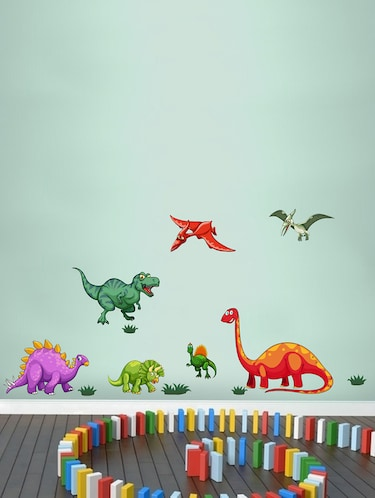 Wall Decals ' Dinosaurs '  Wall stickers (PVC Vinyl) - 15730209 - Standard Image - 1