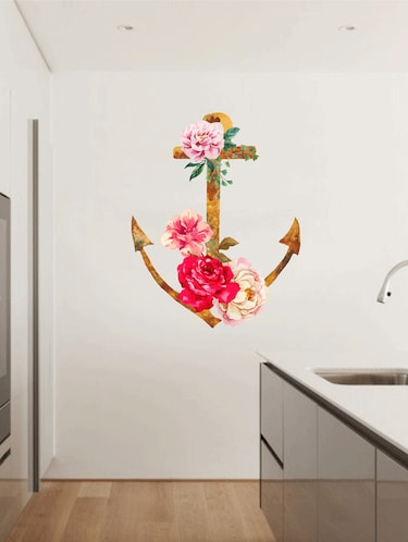 Wall Decals ' Anchor '  Wall stickers (PVC Vinyl) - 15730216 - Standard Image - 1