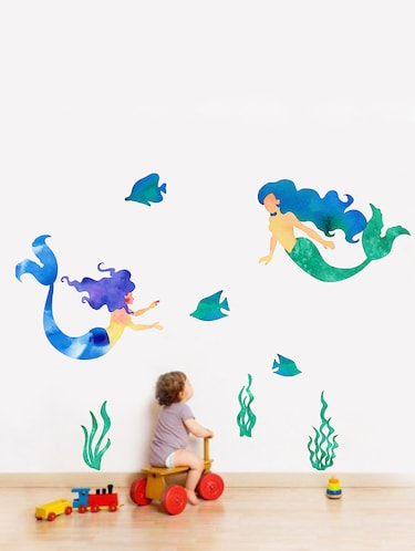 Wall Decals ' Mermaid ' Wall stickers (PVC Vinyl) - 15730219 - Standard Image - 1