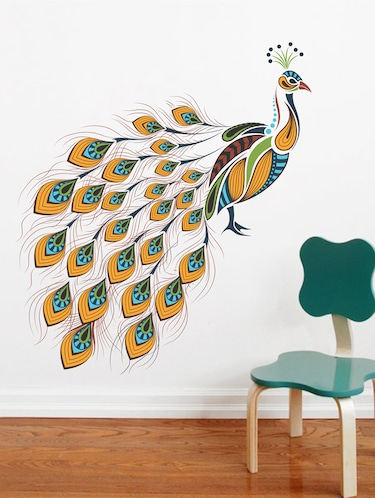 Wall Decals ' Peacock '  Wall stickers (PVC Vinyl) - 15730224 - Standard Image - 1