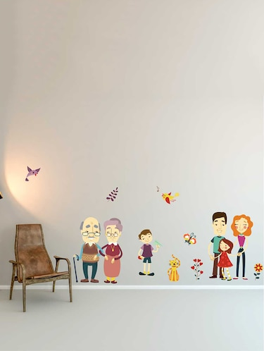 Wall Decals ' A Complete Family '  Wall stickers (PVC Vinyl) - 15730264 - Standard Image - 1