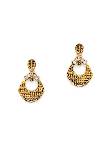 Gold Tone Drop Earrings - 15730453 - Standard Image - 1