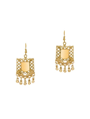 Gold Tone Drop Earrings - 15730463 - Standard Image - 1