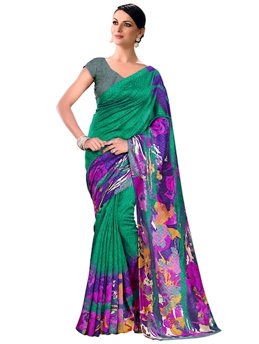 abstract bhagalpuri saree with blouse - 15731372 - Standard Image - 1
