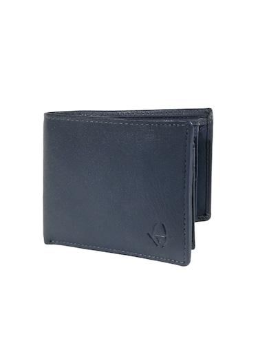 navy blue leather wallet - 15731530 - Standard Image - 1