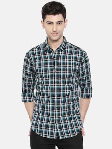 multicolor cotton casual shirt - 15731544 - Standard Image - 1