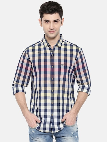 multicolor cotton casual shirt - 15731545 - Standard Image - 1