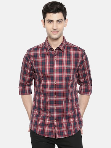 multicolor cotton casual shirt - 15731551 - Standard Image - 1