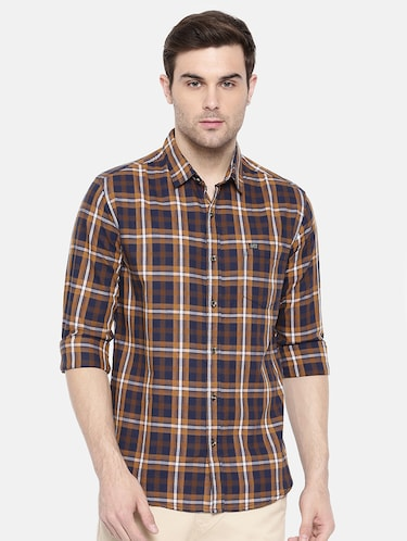 multicolor cotton casual shirt - 15731595 - Standard Image - 1