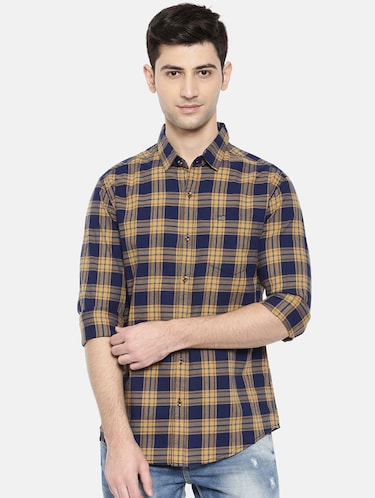 multicolor cotton casual shirt - 15731602 - Standard Image - 1