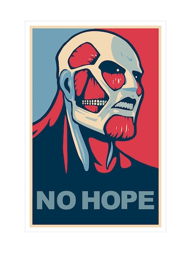 "Rawpockets""Attack on Titans - No Hope""Wall posters (PaperBoard,33cmX48cm) - 15731922 - Standard Image - 1"
