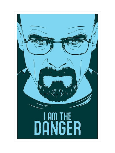 "Rawpockets""Breaking Bad - I am the danger""Wall posters (PaperBoard,33cmX48cm) - 15731923 - Standard Image - 1"