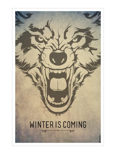 "Rawpockets""Game of Thrones  - Winter is coming""Wall posters (PaperBoard,33cmX48cm) - 15731926 - Standard Image - 1"