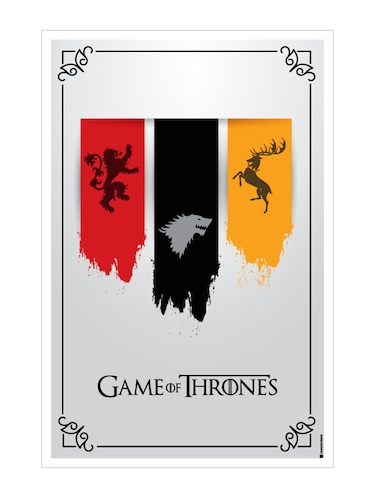 "Rawpockets""Game of Thrones - 3 houses""Wall posters (PaperBoard,33cmX48cm) - 15731927 - Standard Image - 1"