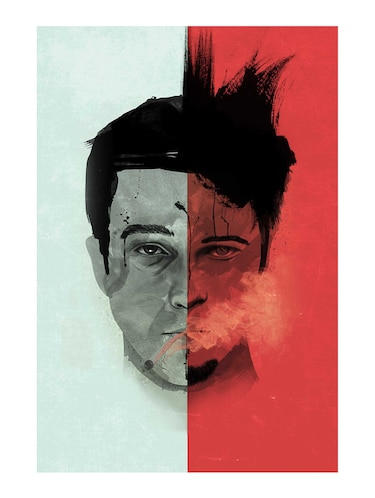 "Rawpockets""Fight Club Edward""Wall posters (PaperBoard,33cmX48cm) - 15731952 - Standard Image - 1"