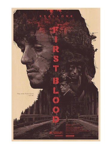"Rawpockets""First Blood""Wall posters (PaperBoard,33cmX48cm) - 15731953 - Standard Image - 1"