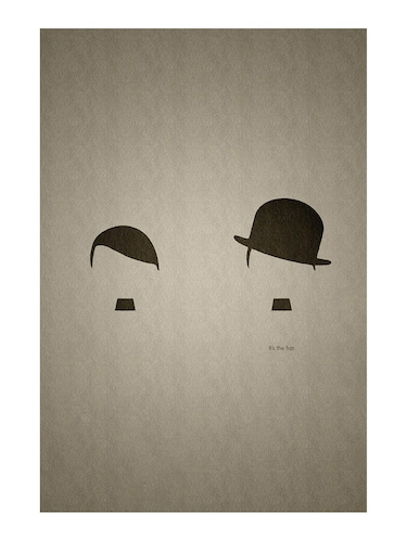 "Rawpockets""Its that Hat""Wall posters (PaperBoard,33cmX48cm) - 15731969 - Standard Image - 1"