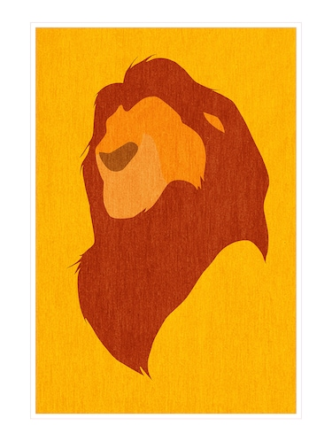 "Rawpockets""Lion King""Wall posters (PaperBoard,33cmX48cm) - 15731973 - Standard Image - 1"