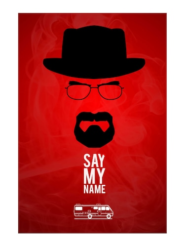 "Rawpockets""Say my Name""Wall posters (PaperBoard,33cmX48cm) - 15731986 - Standard Image - 1"