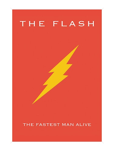 "Rawpockets""The Flash""Wall posters (PaperBoard,33cmX48cm) - 15731988 - Standard Image - 1"