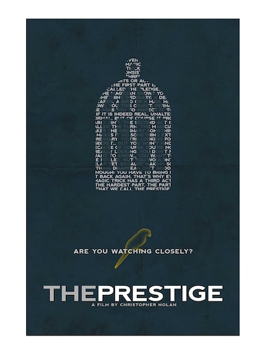 "Rawpockets""The Prestige""Wall posters (PaperBoard,33cmX48cm) - 15731992 - Standard Image - 1"