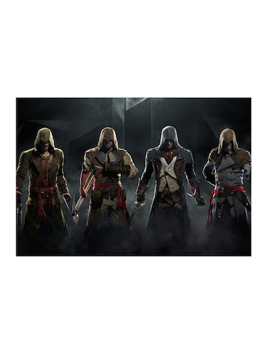 "Rawpockets""Assasin Creed Crew""Wall posters (PaperBoard,33cmX48cm) - 15732001 - Standard Image - 1"