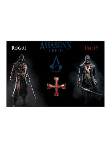 "Rawpockets""Assasin's Creed Rogue Vs Unity""Wall posters (PaperBoard,33cmX48cm) - 15732082 - Standard Image - 1"