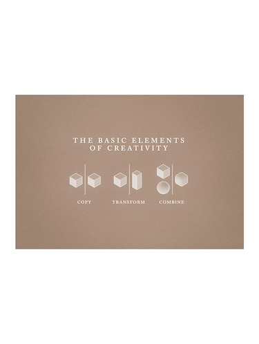 "Rawpockets""Basics Elements of Creativity""Wall posters (PaperBoard,33cmX48cm) - 15732103 - Standard Image - 1"