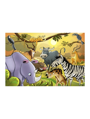 "Rawpockets""Jungle Animals""Wall posters (PaperBoard,33cmX48cm) - 15732157 - Standard Image - 1"