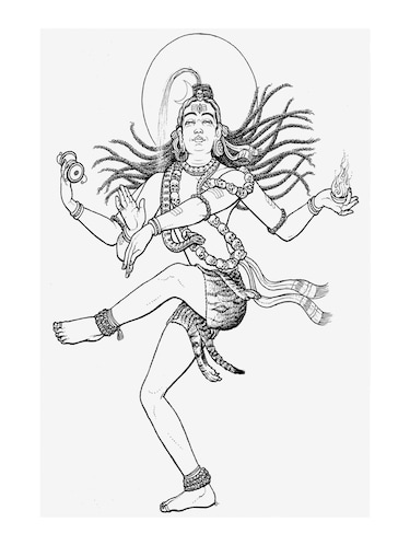 "Rawpockets""Natarajar Dance""Wall posters (PaperBoard,33cmX48cm) - 15732172 - Standard Image - 1"