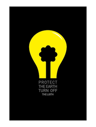 "Rawpockets""Protect the Earth""Wall posters (PaperBoard,33cmX48cm) - 15732182 - Standard Image - 1"
