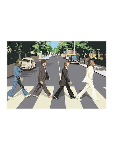 "Rawpockets""The Beatles Drawing""Wall posters (PaperBoard,33cmX48cm) - 15732205 - Standard Image - 1"