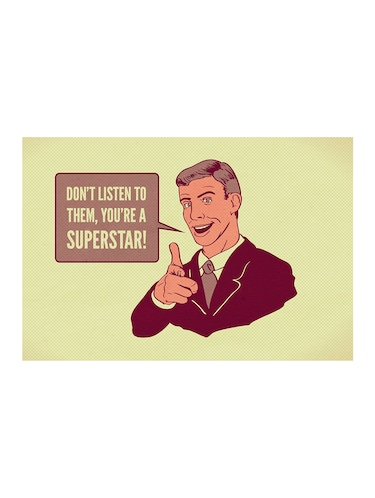 "Rawpockets""you're a Superstar""Wall posters (PaperBoard,33cmX48cm) - 15732217 - Standard Image - 1"
