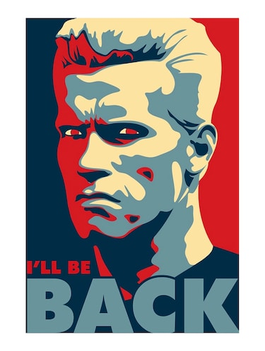 "Rawpockets""Arnold be Back""Wall posters (PaperBoard,33cmX48cm) - 15732339 - Standard Image - 1"